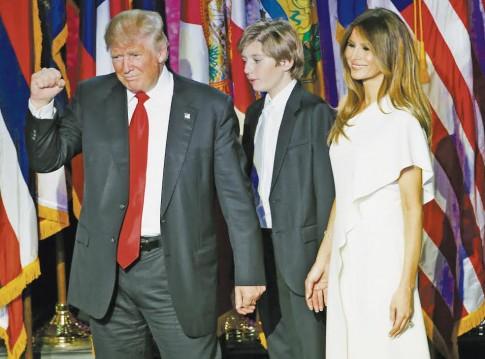 Trump po pergales